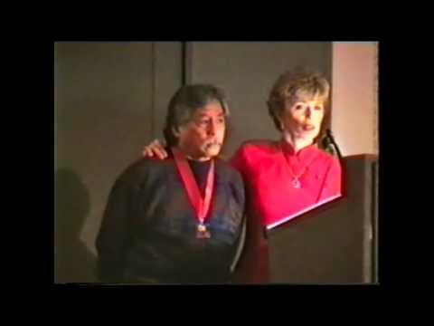 Linda Lee Cadwell and Taky Kimura, Jun Fan JKD Nucleous dinner 1998