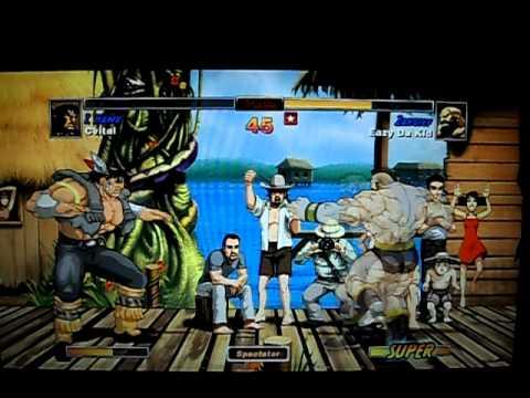Super Streetfighter EAZY Da Kid Beat the great cheezy GAyvitetal. i mean  Cvital lol