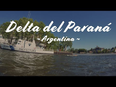 Delta del Parana, Buenos Aires, Argentina - Travel vlog - New Year's Eve! GoPro video.