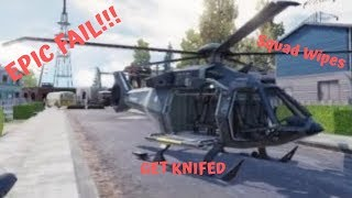 Epic Fails, Get KNIFED and squad wipes!!!