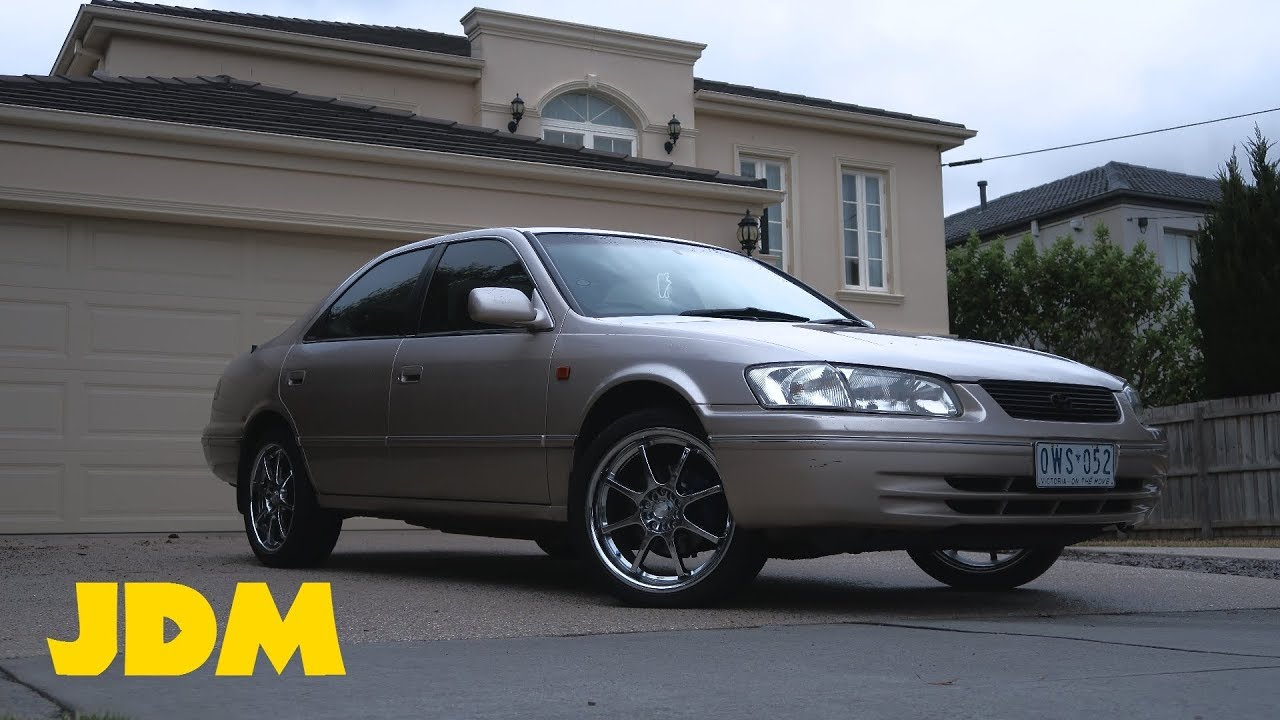 98 Toyota Camry Gets Upgrades Painted Calipers Rims