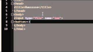 HTML/CSS Урок 43 - input/file и button HTML