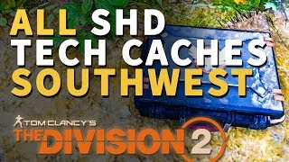 All Southwest SHD Tech Caches Division 2