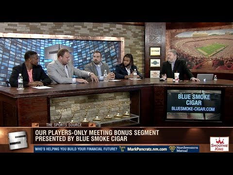 """9 16 18 Sports Source """"Players Only Meeting"""""""