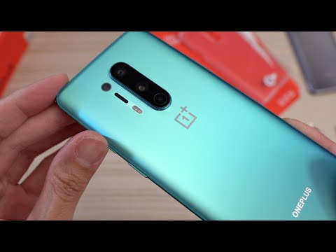 OnePlus 8 Pro Glacial Green UNBOXING!