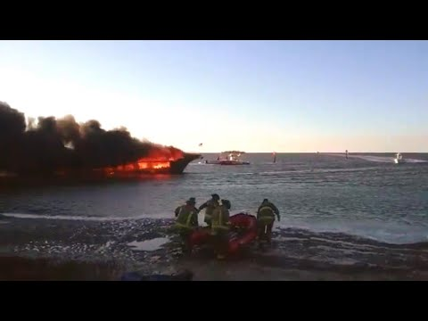 Passengers Jump Into Gulf of Mexico When Casino Shuttle Boat Catches Fire