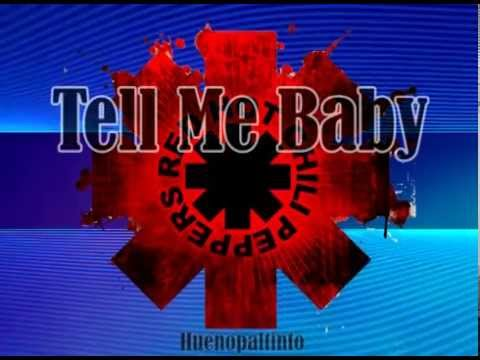 Red Hot Chili Peppers - Tell Me Baby KARAOKE