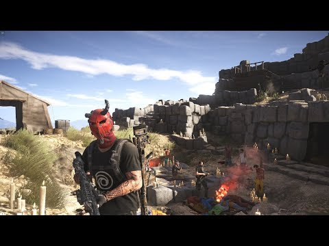 How To Unlock The Broken Devil Mask Ghost Recon Wildlands