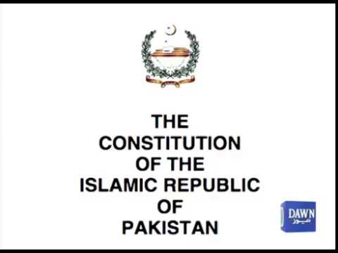 what is article 62 and 63 of Pakistan's constitution