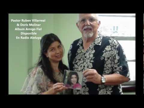 Doris Molinar con Pastor Ruben Villarreal, Radio Aleluya 88.1 FM Pasadena TX