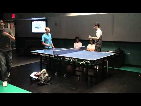 2012.09.14 TT Training @SPiN (Damien Provost) - Forehand Backhand - Part 01