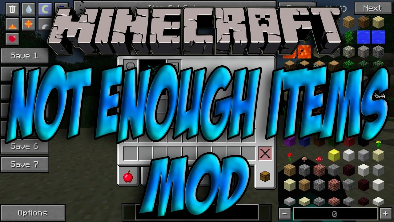 not enough items 1.7.10 1.0.3