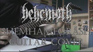 Behemoth - Shemhamforash (Guitar Cover Audio HD)