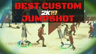 BEST CUSTOM JUMPSHOT IN NBA 2K19 AFTER PATCH   FOR ALL BUILDS