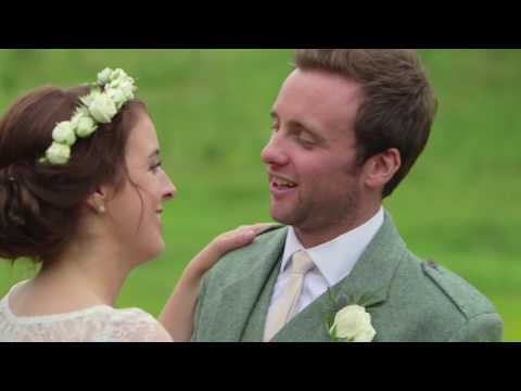Inchyra Byre wedding video - Clare & Richard