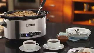 The Kitchenaid® 6-quart Slow Cooker