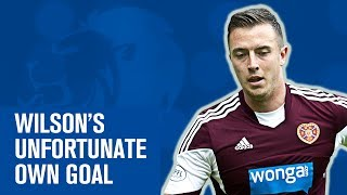 Unlucky Danny Wilson scores horrible own goal