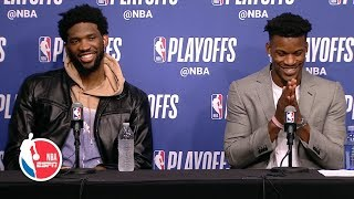 jimmy-butler-joel-embiid-bad-blood-game-4-knew-coming-2019-nba-playoffs