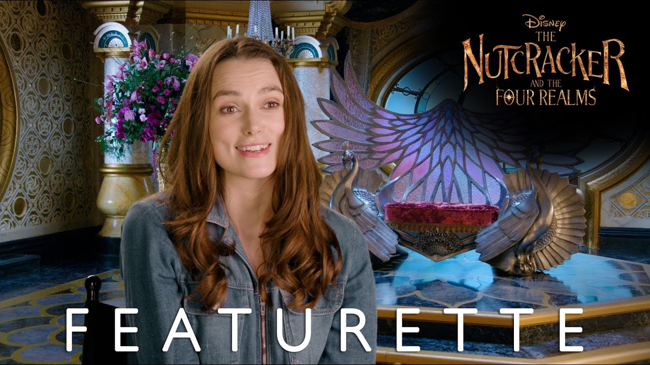 """Disney's The Nutcracker and the Four Realms """"Crafting the Realms"""" Featurette"""