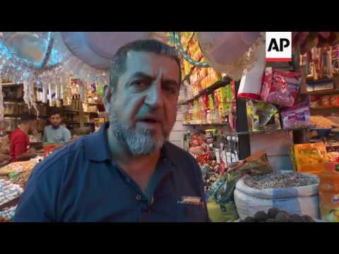 Baghdad markets busy with Ramadan shoppers