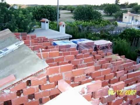 Grupo sav construcci n de tejado youtube - Tejados para terrazas ...