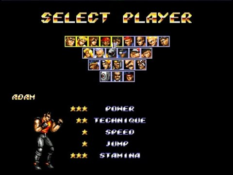 Play Streets of Rage 2 - Syndicate Wars [Hack] Adam
