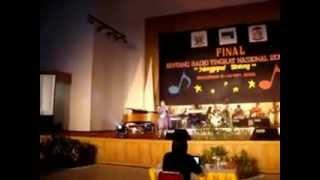 Dorkas Waroy_Cinta Tlah Memilih (Perform at Bintang Radio Tingkat Nasional 2009)