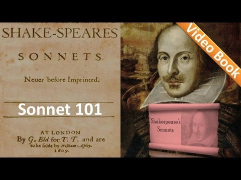 Sonnet 101 By William Shakespeare