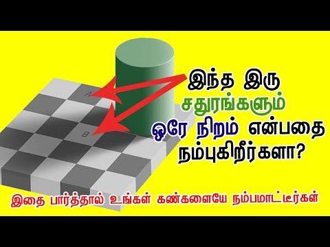 Optical Illusions Games Tamil | Brain Games in Tamil