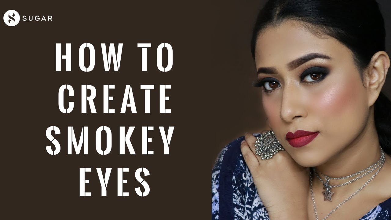 How To Create Smokey Eyes | Beginners Tutorial for Smokey Eyes & Ombre Lips | SUGAR Cosmetics