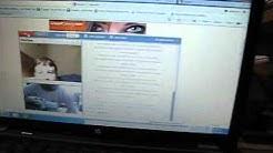 Chatroulette Half Screen Dancing Ladies On My Desktop