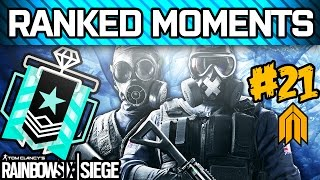 RAINBOW SIX SIEGE RANKED MOMENTS #21 - Diamond Ranked Squad - Velvet Shell