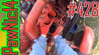 Wymiana filtrów paliwa bez zapowietrzenia układu Władimirec T-25 - Życie zwyczajnego rolnika #428