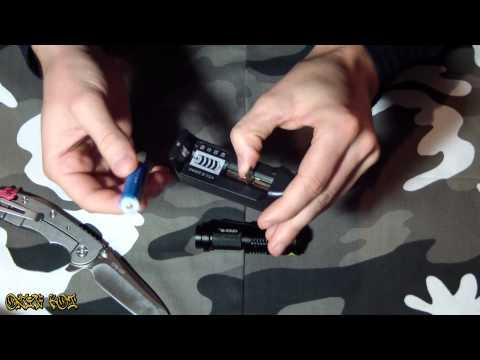 Unboxing UltraFire 7W 400lm CREE XP-E Q5 LED ZOOMABLE Mini Flashlight