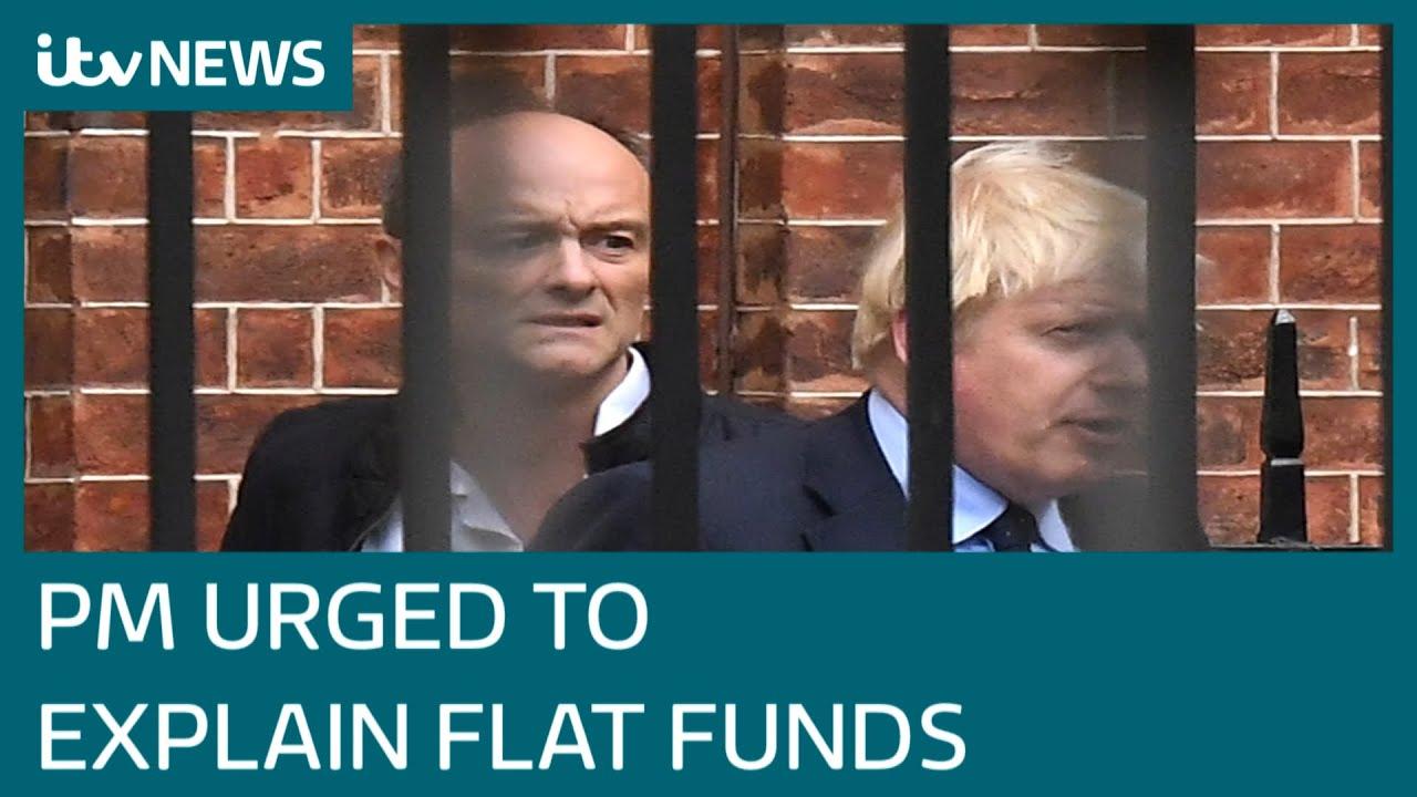 Download Boris Johnson under pressure to explain Downing Street flat refurbishment funding | ITV News