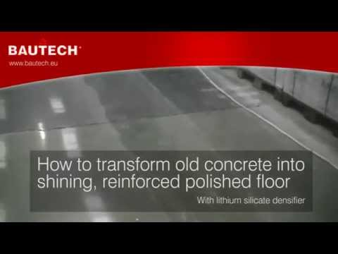 Polished Concrete: How To Transform Old Slab Into Shining One? BAUTECH