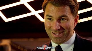 WOW! EDDIE HEARN SAYS SHOWTIME WILL LEAVE BOXING IN 12 MONTHS