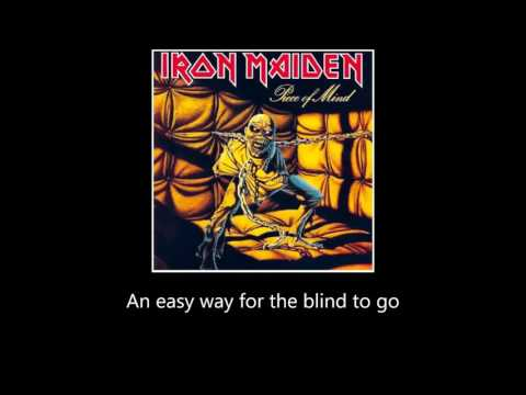Iron Maiden - Revelations (Lyrics)