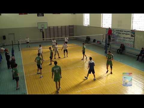 Дагестан. Городской чемпионат по волейболу среди мужских команд (г.Кизилюрт, 7-8 апреля 2018 года)