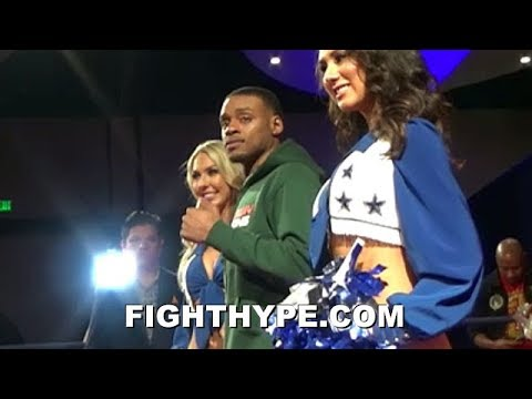 DALLAS ERUPTS FOR ERROL SPENCE TOO; FANS SHOW MAD LOVE AT GRAND ARRIVAL