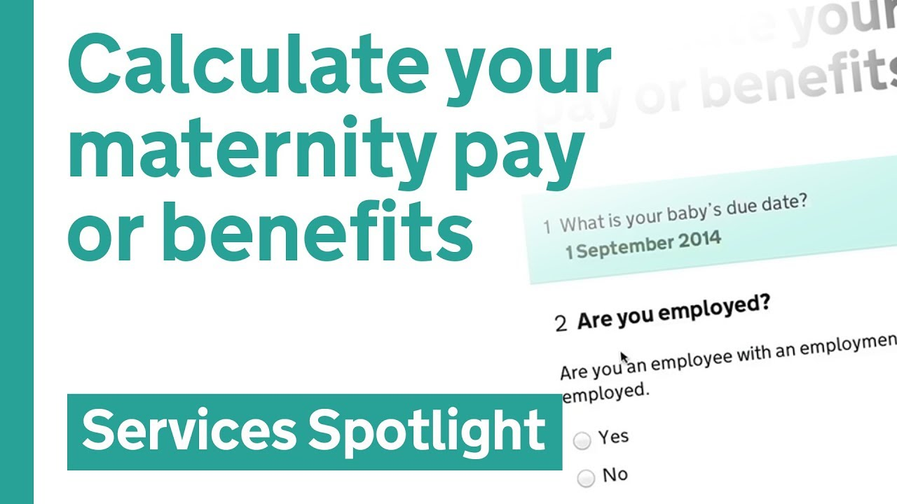 How to calculate maternity pay 33