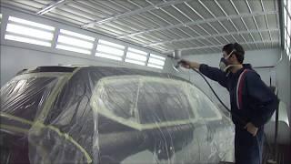 Pintar un coche en dos colores