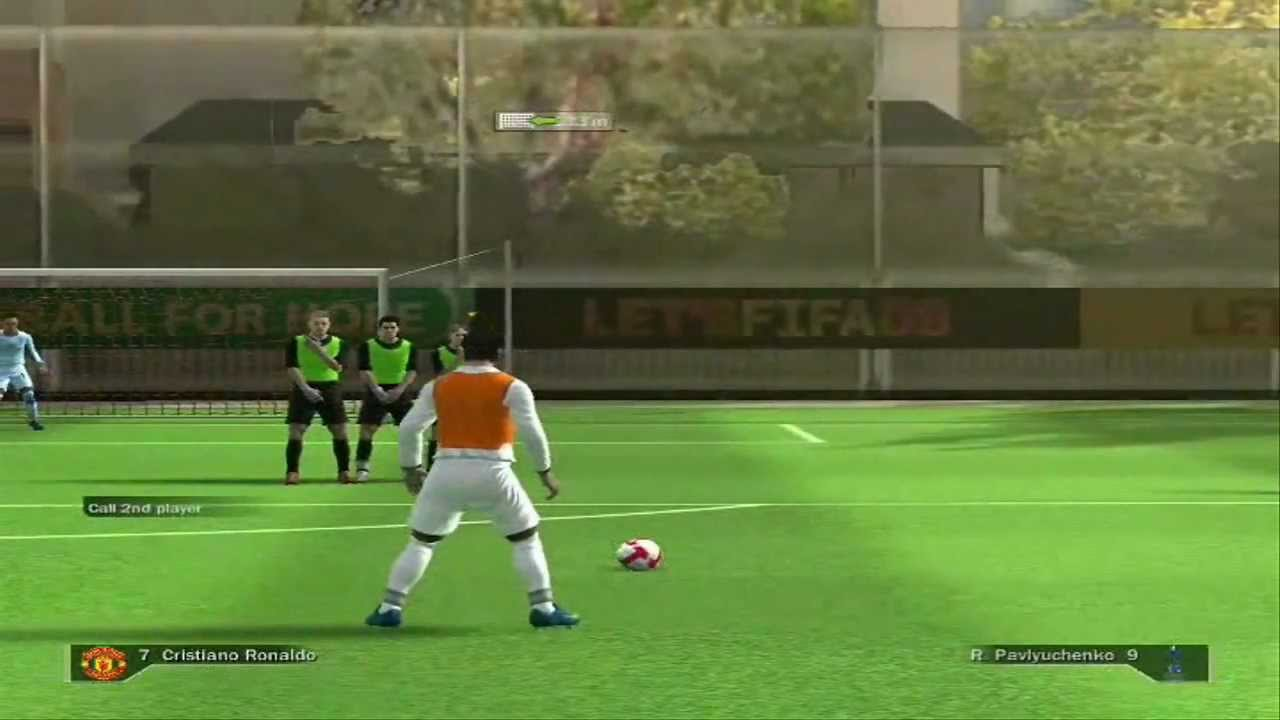 Fifa 09 free kick tutorial for xbox 360 and ps3 youtube.
