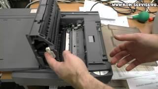 Как вытащить картридж из копира  серии Canon FC.(Для этого сдвигаем стол сканера в лева и открываем крышку Canon FC 226 нажав кнопку. После видим тонер картридж..., 2015-02-21T02:51:36.000Z)