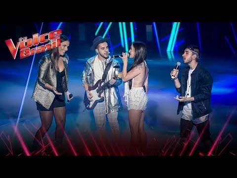 Ivete Sangalo e Melim cantam Um Sinal – 'The Voice Brasil'  7ª Temporada