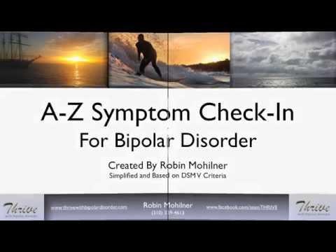 Bipolar Disorder: A-Z Symptom Check List