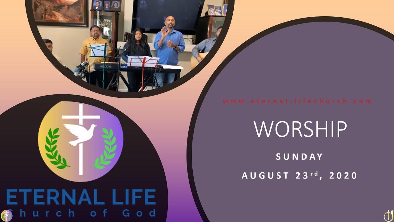 Worship Set - Sunday 8/23/2020
