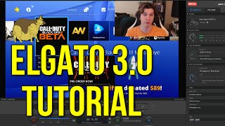 Elgato 3.0 Tutorial: Donation Alerts, Green Screening, GIFs, & Stream Capture!