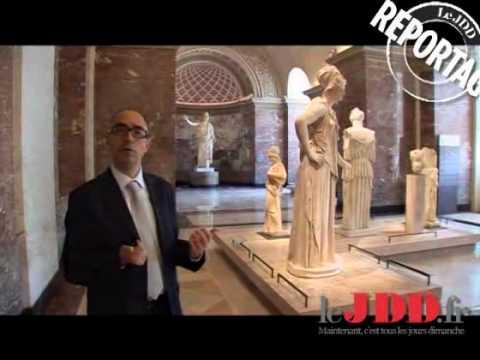 Venus de Milo en intimité au Louvre