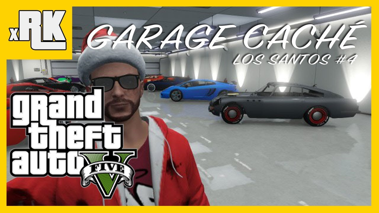 Gta 5 garage secret 4 le plus grand carte et for Voiture garage gta 5